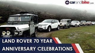 Download Land Rover 70 Years Celebrations In India   NDTV carandbike Video