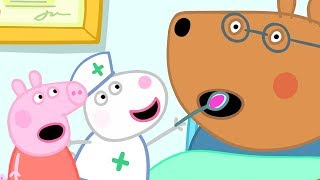 Download Peppa Pig English Episodes | Looking after Doctor Brown Bear | Peppa Pig Official Video