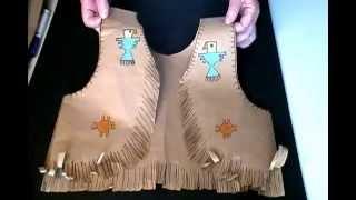Download Native American Paper Vest Video