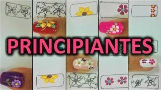 Download Dibujar FÁCIL Flores en tus Uñas - 5 formas de hacer flores en tus uñas Video
