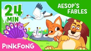 Download The Old Lion and the fox and 7+ songs| Aesop's Fables | + Compilation | Pinkfong Songs for Children Video