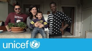 Download The Italian family who rescued a 16-year-old migrant | UNICEF Video
