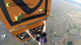 Download GoPro Awards: Worlds Highest Rock Climbing Wall Video
