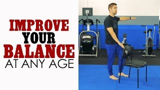 Download Prevent FALLS with These Simple Balance Exercises for Seniors and Elderly Adults Video