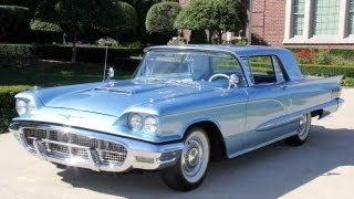Download 1960 Ford Thunderbird Hardtop Classic Muscle Car for Sale in MI Vanguard Motor Sales Video