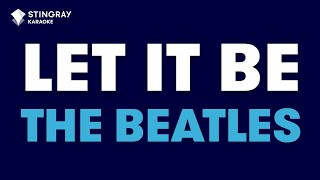 Download Let It Be in the Style of ″The Beatles″ karaoke video lyrics (no lead vocal) Video