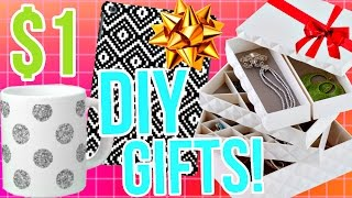 Download DIY Holiday Gift Ideas! Easy & Affordable gifts for a $1! Video