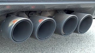 Download Corvette ZR1 with Akrapovic Exhaust System! Video