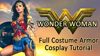 Download Wonder Woman Costume Guide - Cosplay Tutorial Video