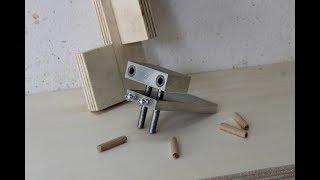 Download dima per spinatura legno fai da te (homemade doweling jig) Video