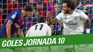 Download Todos los goles de la Jornada 10 de LaLiga Santander 2018/2019 Video