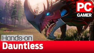 Download Dauntless gameplay and impressions — a Monster Hunter style game on PC Video