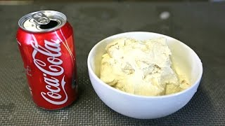 Download DIY Coca Cola Flavored Ice Cream Video