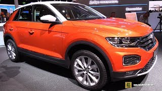 Download 2018 Volkswagen T-Roc Style - Exterior and Interior Walkaround - 2017 Frankfurt Auto Show Video
