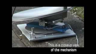 Download Homemade Portable Automatic Satellite Dish for Caravan using PIC16F88 Video