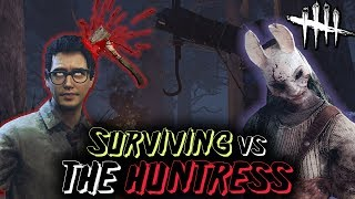 Download SURVIVING vs The Huntress! Dead by Daylight with HybridPanda Video