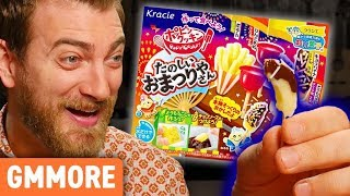 Download Kracie Poppin' Cookin' Festival Candy Kit Taste Test Video