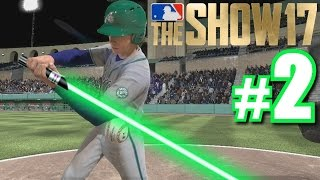Download LUKE SKYWALKER'S FIRST HOME RUN! | MLB The Show 17 | Road to the Show #2 Video