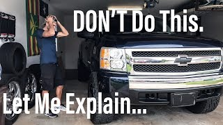 Download Rough Country Lift 3.5″ - Silverado - Don't Do This... Video