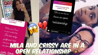 Download CRISSY AND MILA ARE IN A OPEN RELATIONSHIP 😱!? MILA IS PIMPIN!! Video
