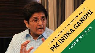 Download I was fearless enough to crane PM Indra Gandhi's car - Dr.Kiran Bedi | Sri Shakthi Leadership Talks Video