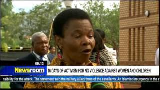 Download Susan Shabangu on 16 Days of Activism campaign Video