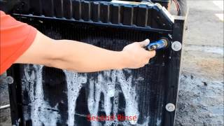 Download Dirty Radiator Cleaning Condensed Video