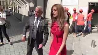 Download Zahia Dehar, Carine Roitfeld and Franca Sozzani at Schiaparelli Fashion Show in Paris Video