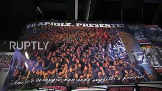 Download Italy: CasaPound supporters commemorate men killed in 70s left-wing attacks Video
