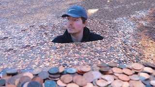 Download I Put Millions Of Pennies In My Friends Backyard Video