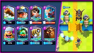 Download WHAT HAPPENS WHEN YOU USE ALL LEGENDARIES!? YOU WON'T BELIEVE THIS Clash Royale Deck! Video