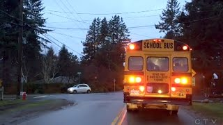 Download Caught on Cam: Disturbing driving near B.C. school bus Video
