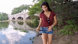 Download Fishing with my Sister in Washington D.C. (Last Time Before She Moves to Florida!!!) Video