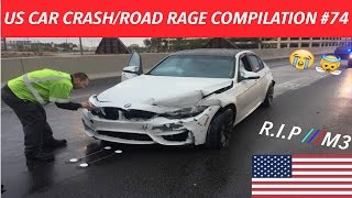 Download 🇺🇸 [US ONLY] AMERICAN CAR CRASH/ROAD RAGE COMPILATION #74 Video