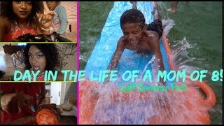 Download DAY IN THE LIFE OF A MOM OF 8!| LIGHT SUMMER FUN! Video