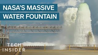 Download Why NASA Spews Out Half A Million Gallons Of Water During Rocket Launches Video