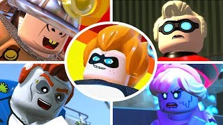 Download LEGO The Incredibles - All Bosses & Ending Video