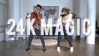 Download ″24K MAGIC″ - Bruno Mars Dance ft Kenneth & Bailey | @MattSteffanina Video