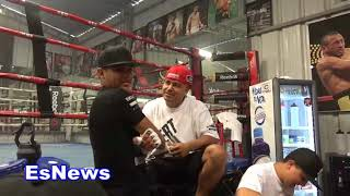 Download you can only get a tattoo if mikey garcia says it okay EsNews Boxing Video