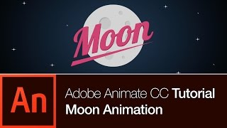 Download Animate CC Tutorial | Create the Moon Animation (FREE DOWNLOAD) Video