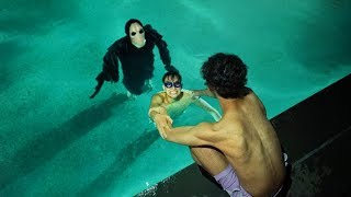 Download SCARY MONSTER INVADES OUR SWIMMING POOL AT 3AM! Video