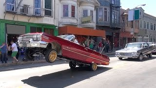 Download Lowriders and other vehicles: Cesar Chavez Day Parade San Francisco 2015, Part 2 Video