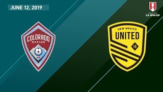 Download Colorado Rapids vs. New Mexico United | HIGHLIGHTS - June 12, 2019 Video