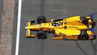 Download Fernando Alonso's 2017 Indy 500 in under 100 seconds Video