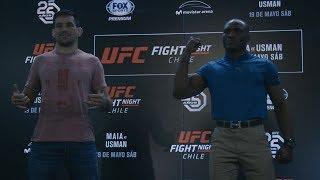 Download Fight Night Santiago: Media Day Faceoffs Video
