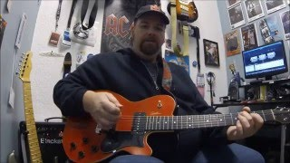 Download ZZ Top , Jesus just left Chicago Open G tuning guitar lesson Video