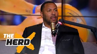 Download Eddie House talks Kevin Durant, parity in the NBA, 2017 NBA Finals and more | THE HERD Video