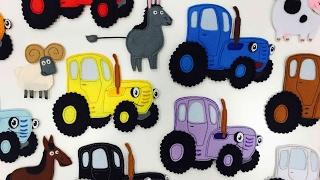 Download РАЗВИВАЙКА про Синий трактор - Мультик про животных и цвета для детей малышей Video