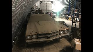 Download Time Capsule 1970 Chevelle SS396 Found Parked Covered With Decades Of Patina On A Farm In Iowa Video