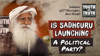 Download Is Sadhguru Launching A Political Party? Video